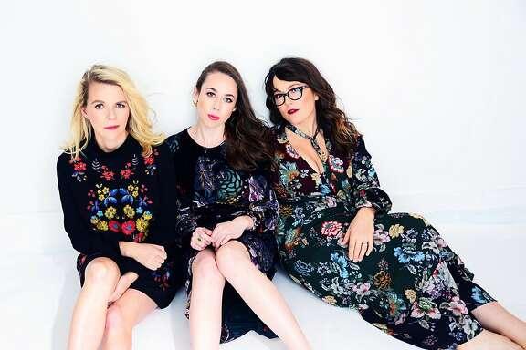 From left, Aoife O�Donovan,�Sarah Jarosz and�Sara Watkins make up the trio�I'm With Her.