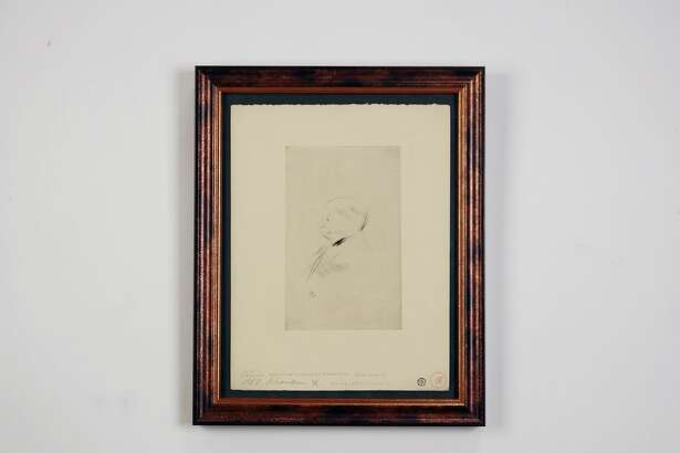 """""""Monsignor,"""" by Henri de Toulouse-Lautrec, etching circa 1890's"""