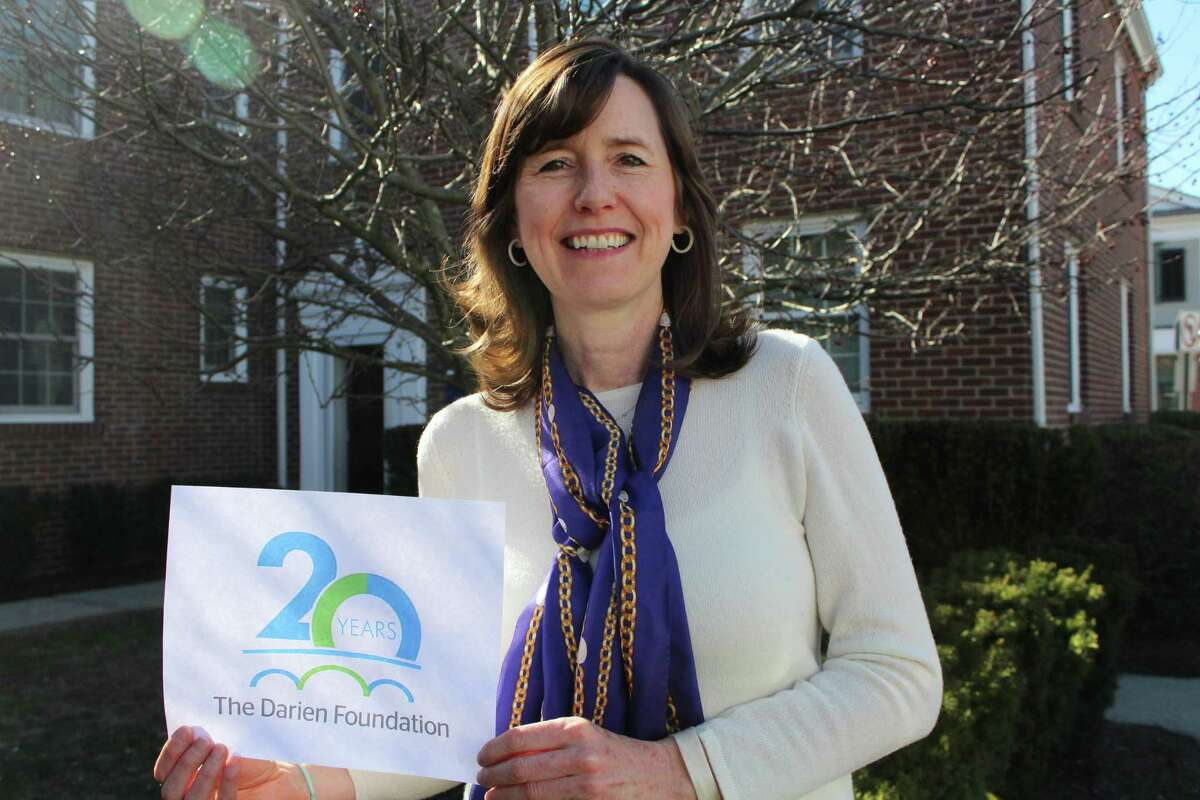 Sarah Woodberry is the executive director of The Darien Foundation. Picture taken March 19, 2018.