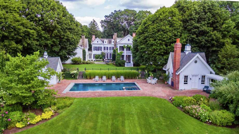 The six-bedroom home at 32 Weston Road in Weston. Photo: Contributed Photo /