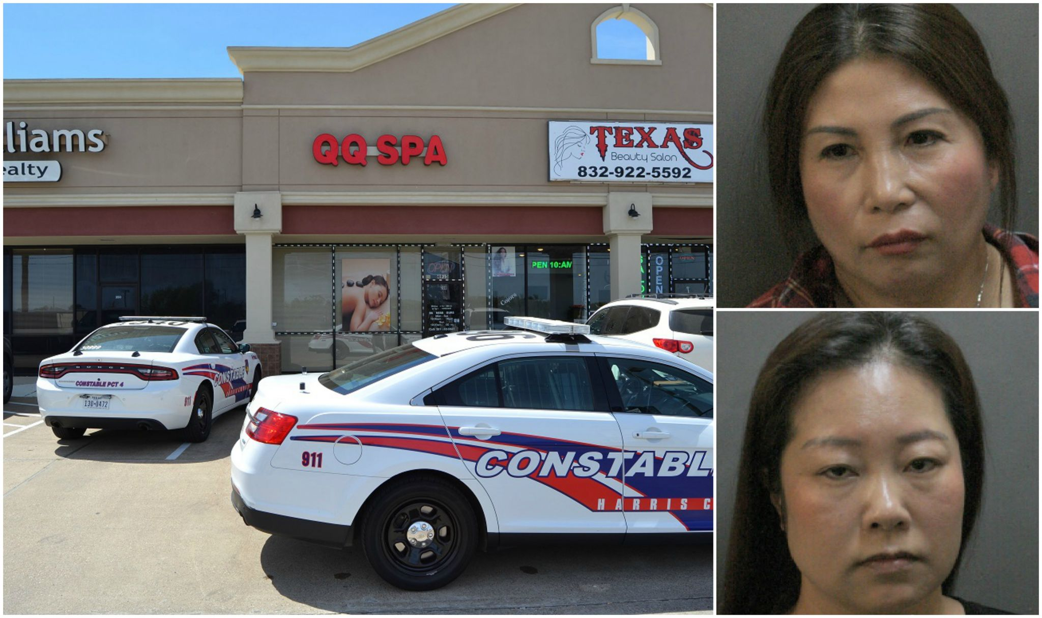 Police Bust Suspected Prostitution Spa In Spring