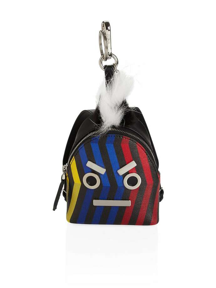 This Fendi fur and leather backpack key chain would be banned under the fur ban approved by the San Francisco Board of Supervisors, which would go into effect in January 2019. Photo: Saks Fifth Avenue