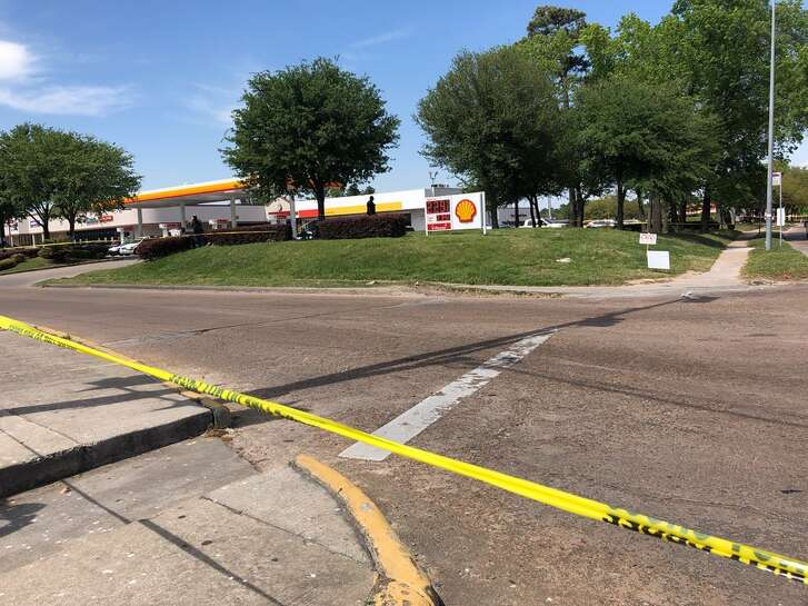 A suspect is dead, HCSO Texas reports.