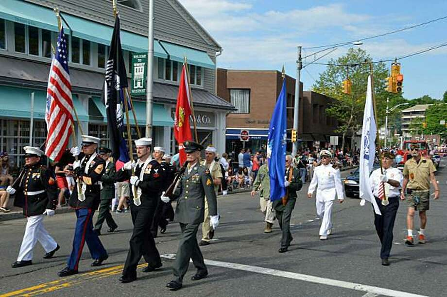 "The Westport Veterans Council announced the theme for the 2018 Memorial Day float contest will be ""Honoring the Veterans of World War I."" Photo: Hearst Connecticut Media File / Westport News"