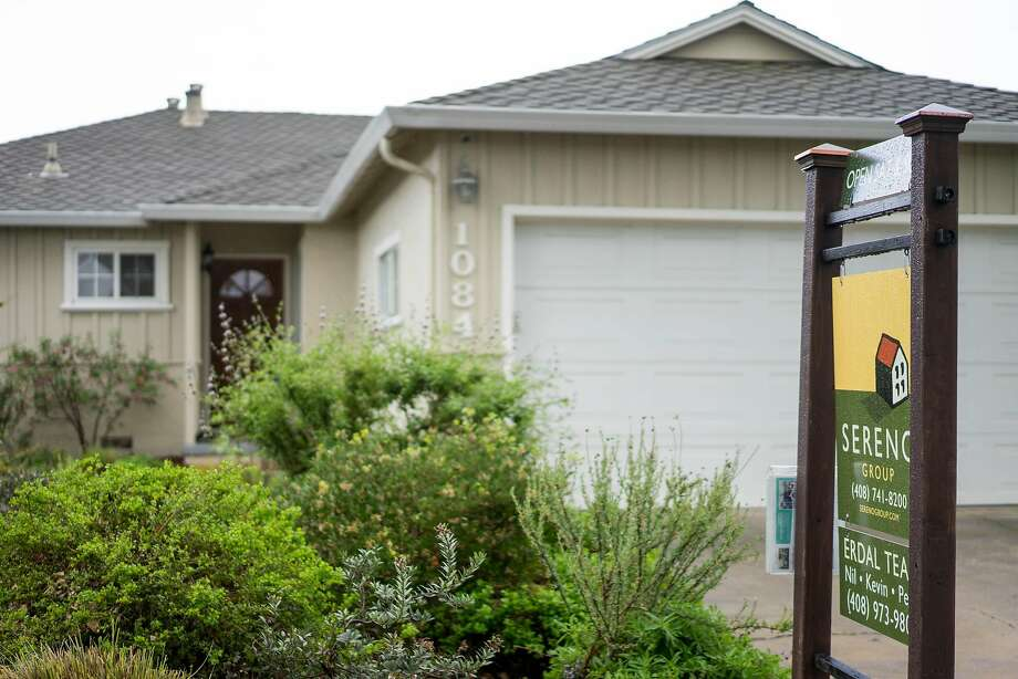 An open house on McKinley Avenue in Sunnyvale. Median home prices in Santa Clara County jumped to a record $1,080,000, up 12.5 percent from January and up a whopping 27.8 percent year over year, according to CoreLogic. Photo: James Tensuan, Special To The Chronicle