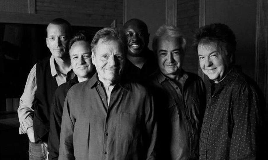 "Legendary harmonica ""wizard"" Delbert McClinton, center front, is set to perform in Fairfield on March 30 with his band, Self-Made Men. Photo: Fairfield Theatre Company / Contributed Photo"