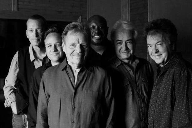 "Legendary harmonica ""wizard"" Delbert McClinton, center front, is set to perform in Fairfield on March 30 with his band, Self-Made Men."