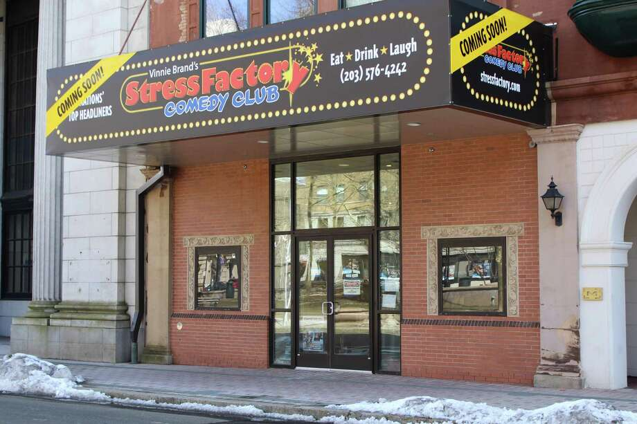 The Stress Factory Comedy Club at 167 State Street in Bridgeport. Photo: Jordan Grice / Hearst Connecticut Media / Connecticut Post