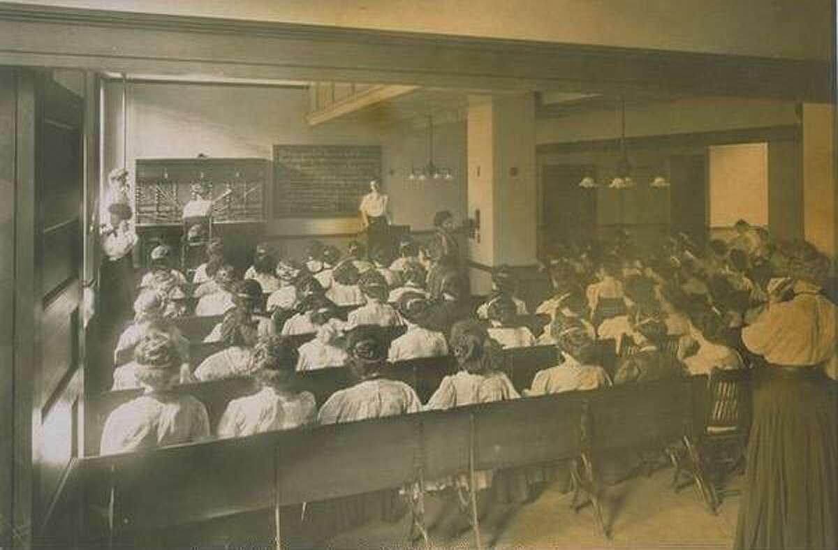 Southern New England Telephone Company Operator School.