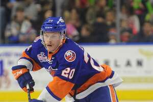 Sound Tiger Scott Eansor is out with an upper-body injury and isn't expected to play at Syracuse or Wilkes-Barre Scranton this weekend.