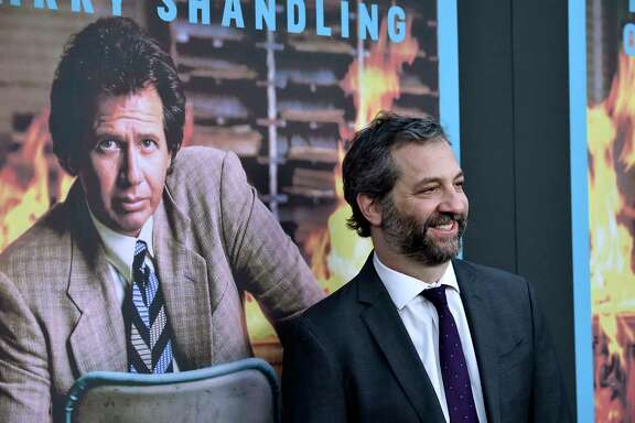 "Judd Apatow attends a screening of HBO's ""The Zen Diaries Of Garry Shandling"" earlier this month."