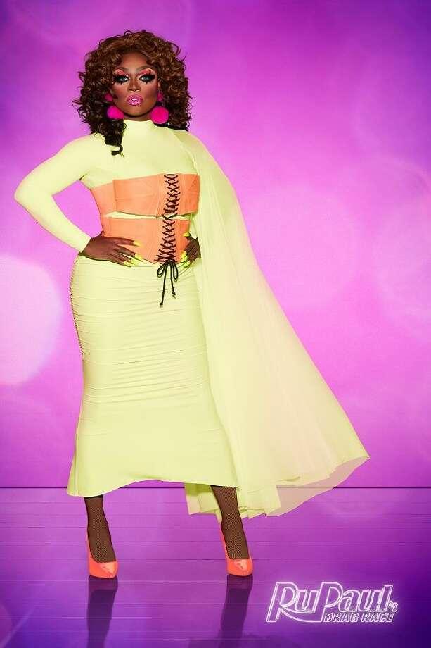 Mayhem Miller from RuPaul's Drag Race Season 10. Eliminated April 19. Photo: VH1