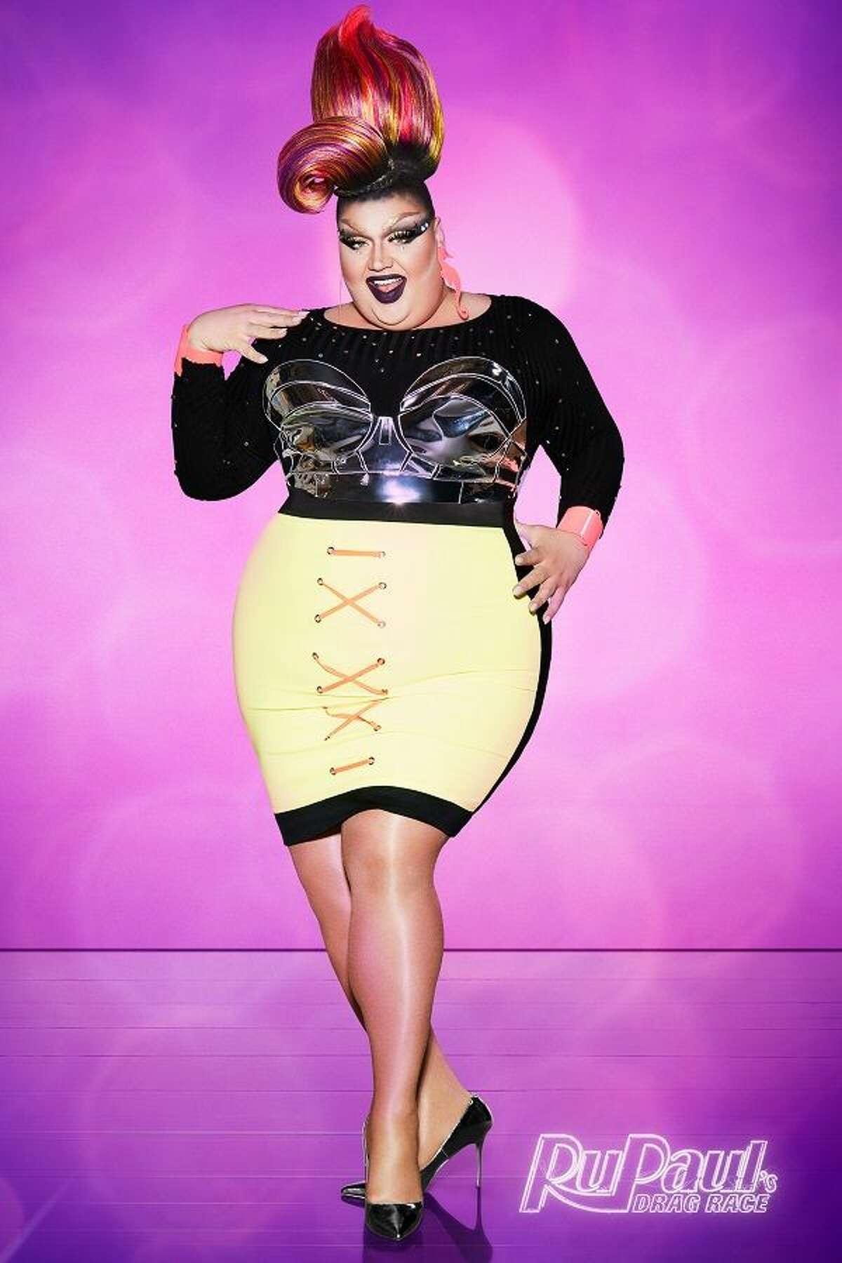 Eureka O'Hara from RuPaul's Drag Race Season 10.
