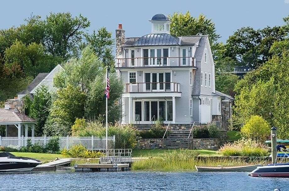 The house at 5 North Crossway in Old Greenwich has a touch of Nantucket in its bones. Expansive water views are a main attraction, as well as easy access to Long Island Sound. Photo: Contributed Photo / Contributed / Greenwich Time Contributed