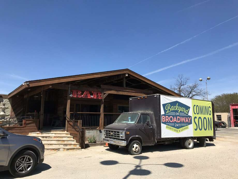 Backyard on Broadway is set to open in coming weeks at 2411 Broadway after a substantial remodel on the space that includes lots of porch and backyard space. Photo: Emily Spicer /San Antonio Express-News