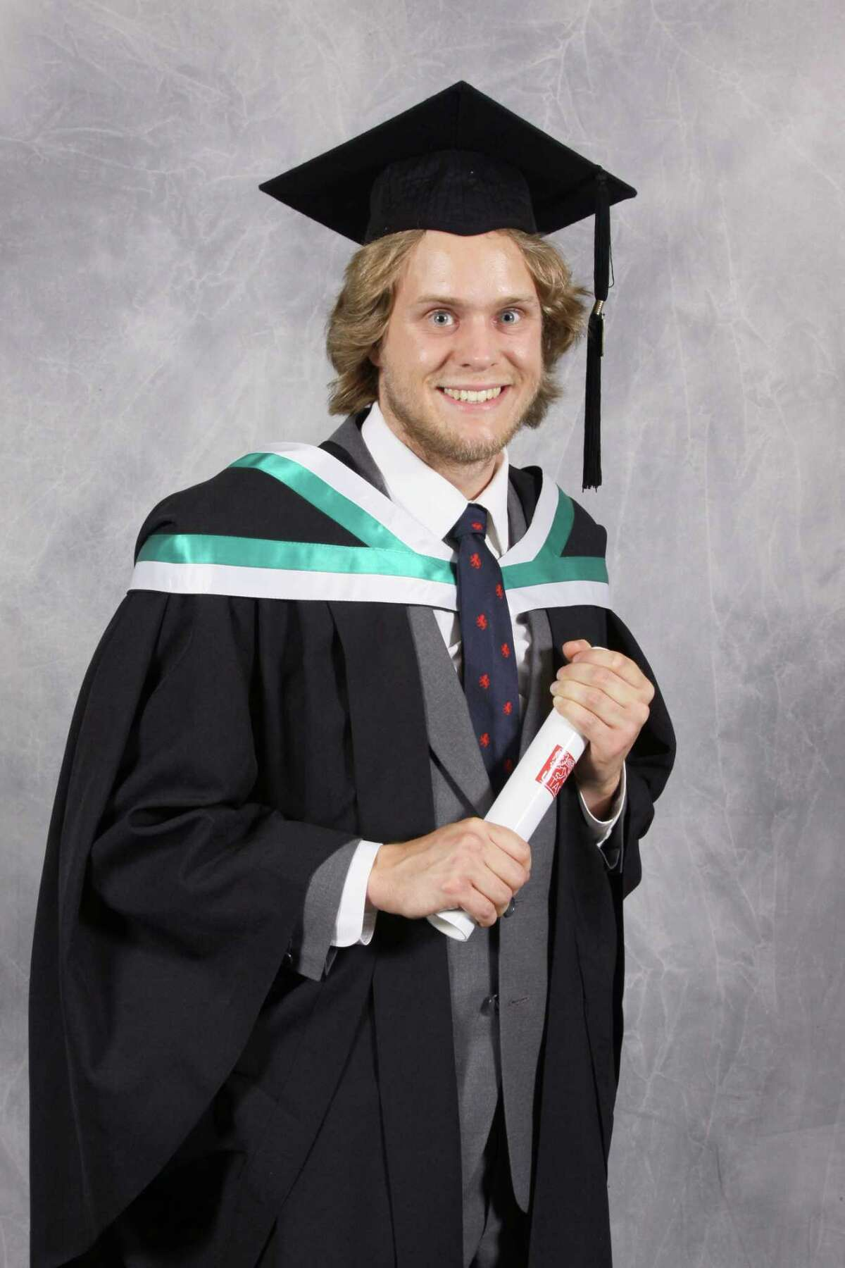 Nicholas Letchford at his graduation. (Provided)