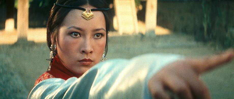 "Hsu Feng, one of the best female fighters and actresses during the 1970s, is Melody in Hu's ""Legend."" Two years after that film, she quit acting and became a successful producer. Photo: Kino Lorber 1979"