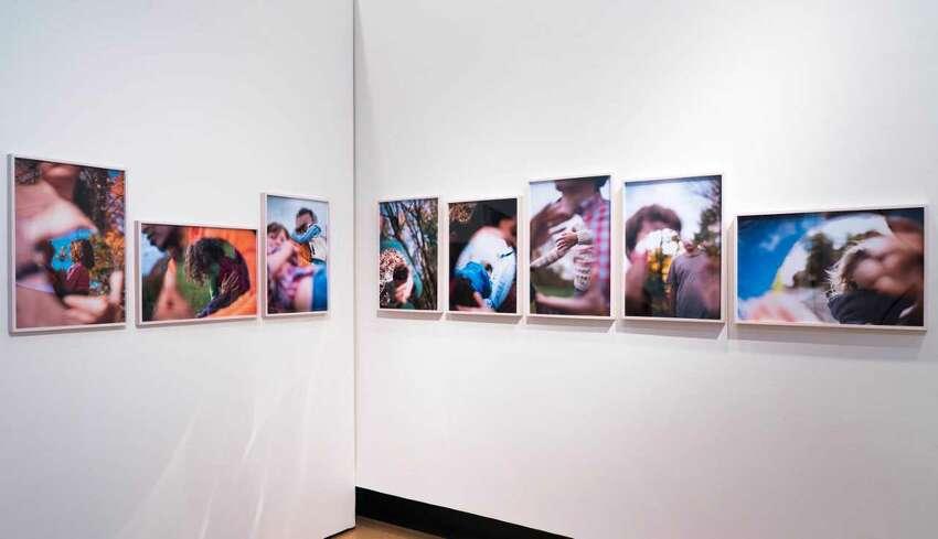 Julianne Swartz' Co-Portraits - digital C-prints (photo William Jaeger)