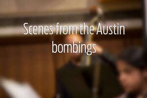 Swipe through to see scenes from the Austin bombings.