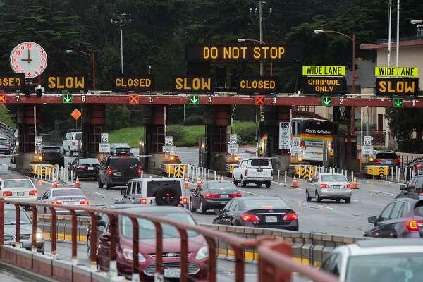 Multi-vehicle collision on northbound Golden Gate Bridge