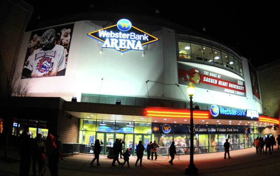 Webster Bank Arena in Bridgeport, Conn. Photo: Christian Abraham / Hearst Connecticut Media / Connecticut Post