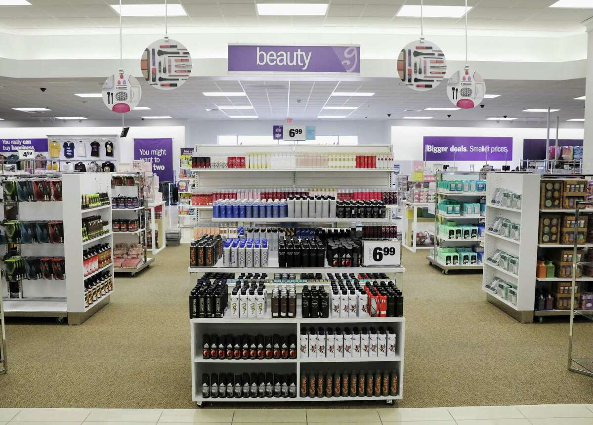 A view of the beauty section during a tour of the new Gordmans discount department store in Rosenberg, TX on Wednesday, March 21, 2018.