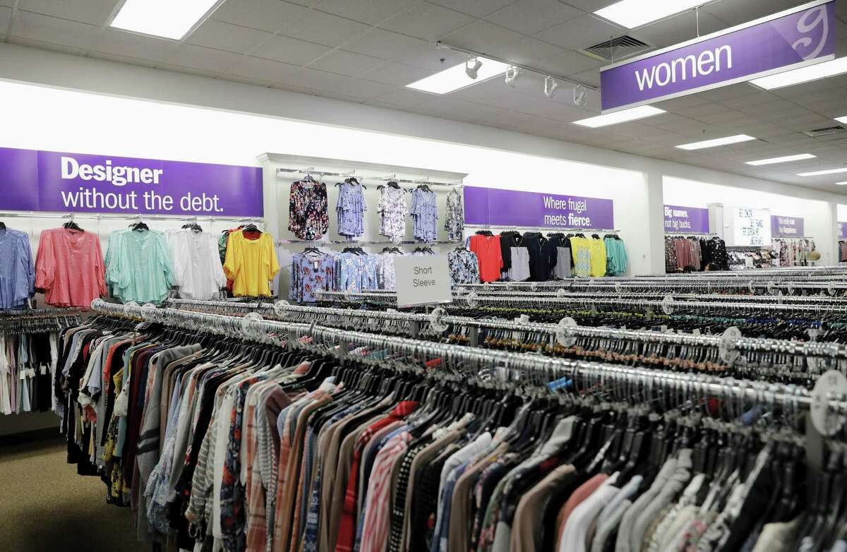 A view of the women's section during a tour of the new Gordmans discount department store in Rosenberg, TX on Wednesday, March 21, 2018.