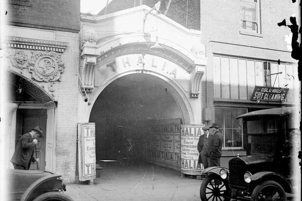 The Thalia dance hall on Pacific Street in San Francisco circa 1918.