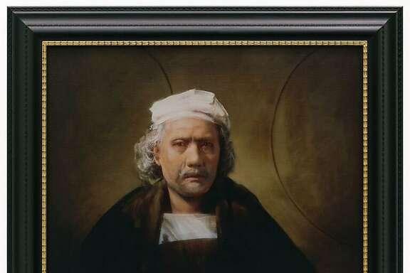 Yasumasa Morimura, 'Unfinished Self-Portrait 1660'