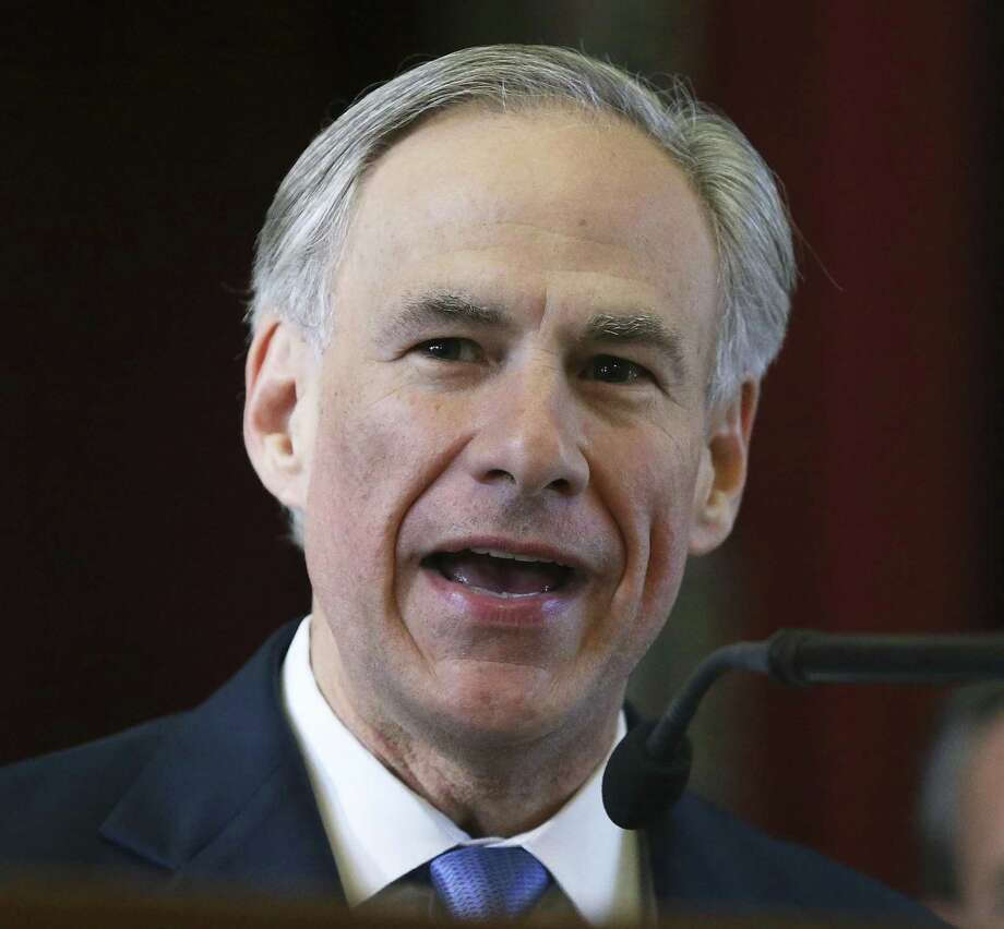 Gov. Greg Abbott on Thursday announced that the state is releasing $2.3 million in grants to six agencies offering assistance to the victims of the November mass shooting in Sutherland Springs. Photo: Tom Reel /San Antonio Express-News / 2017 SAN ANTONIO EXPRESS-NEWS