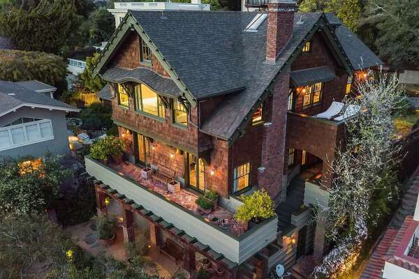 221 Pacific Ave. in Piedmont is a shingled five-bedroom available for $3.85 million.