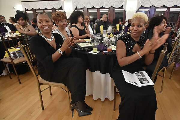 State Rep. Robyn Porter, 94th Assembly District, at left, was awarded the Edna Baker Carnegie Award  he 2nd annual Elm City Freddy Fixer Black Tie Gala, Thursday, March 22, 2018, at Cascades Fine Catering at 480 Sherman Ave. in Hamden. The Elm City Freddy Fixer Parade Day on Dixwell Avenue is Sunday, May 20, 2018, at 1:30 p.m.