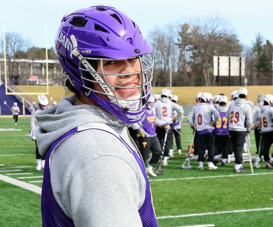 Inside Lacrosse ranked UAlbany freshman attack Tehoka Nanticoke as the No. 1 recruit in the country. (John Carl D'Annibale/Times Union)