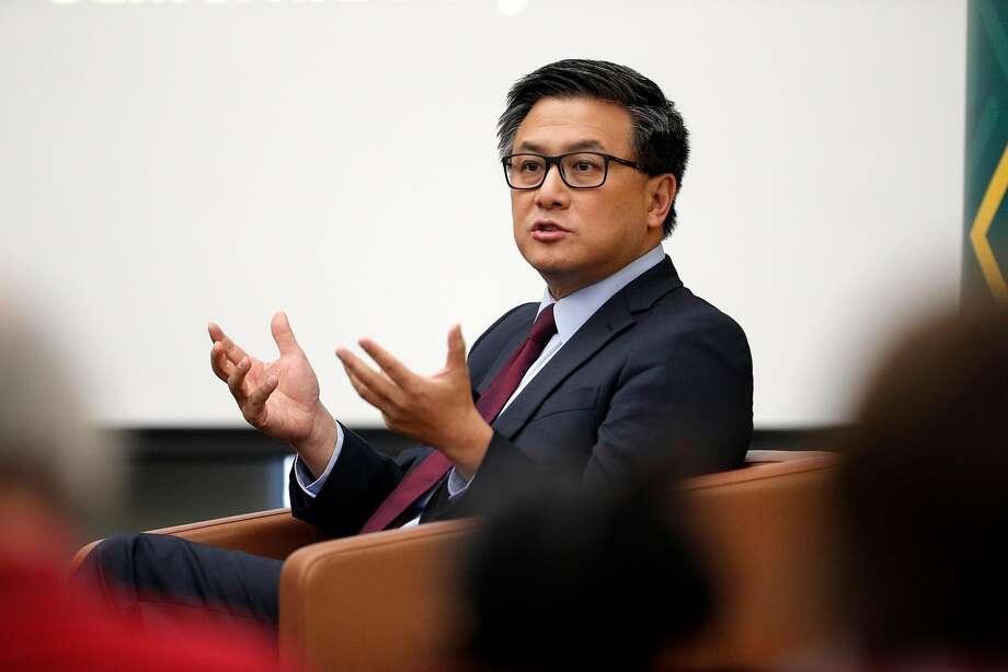 John Chiang, Democrat Photo: Carlos Avila Gonzalez / The Chronicle
