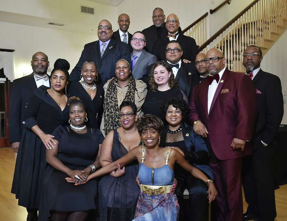 Images of the 2nd annual Elm City Freddy Fixer Black Tie Gala, Thursday, March 22, 2018, at Cascades Fine Catering at 480 Sherman Ave. in Hamden. Photo: Catherine Avalone, Hearst Connecticut Media / New Haven Register