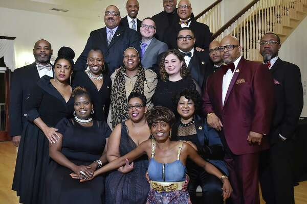 Images of the 2nd annual Elm City Freddy Fixer Black Tie Gala, Thursday, March 22, 2018, at Cascades Fine Catering at 480 Sherman Ave. in Hamden.