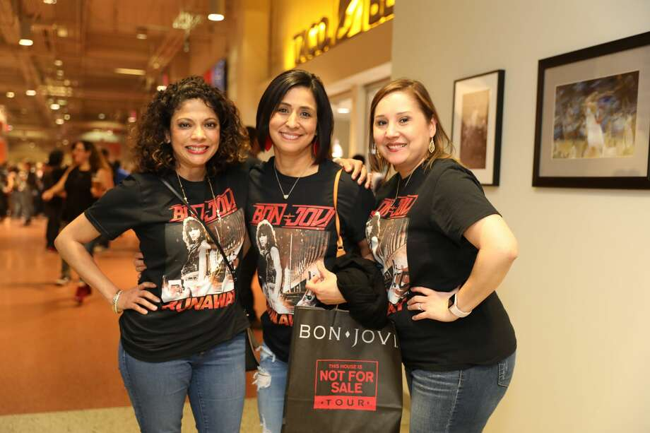 On Thursday, March 22, 2018 at the AT&T Center, the local band Soltribe warmed up the crowd for Bon Jovi. The Bon Jovi This House Is Not For Sale Tour had fans singing old and new Bon Jovi songs. Bon Jovi will be inducted to the Rock and Roll Hall of Fame in April. Photo: Marco Garza