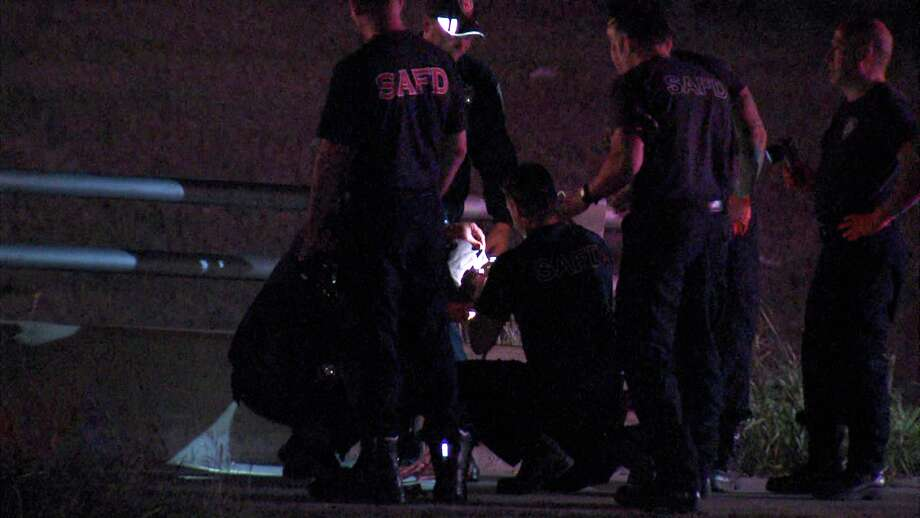 A man jumped off a West Side bridge Thursday night after police discovered he was wanted on a traffic warrant. Photo: Ken Branca