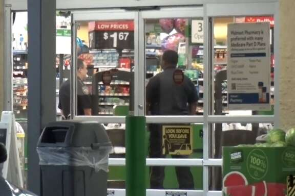 Two men were caught and two men are on the run after being accused of stealing narcotics from a Cypress-area Walmart Friday morning, March 23, 2018.