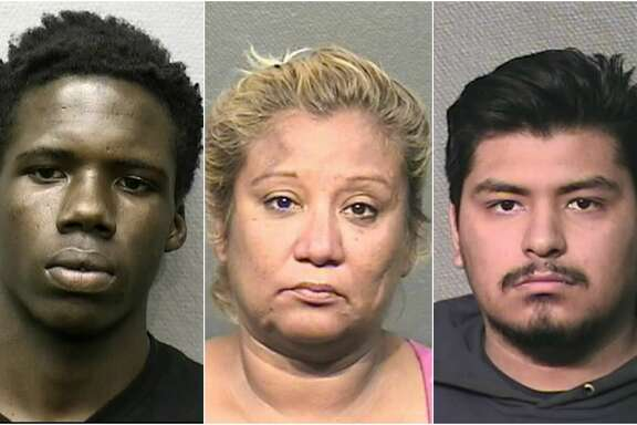 Suspects charged with murder in 2017  Based on a public information request from the Houston Police Department and records from the Harris County District Clerk's Office, at least 45 people have been charged with murder by HPD in 2017.   Scroll ahead to see mugshots of the suspects.