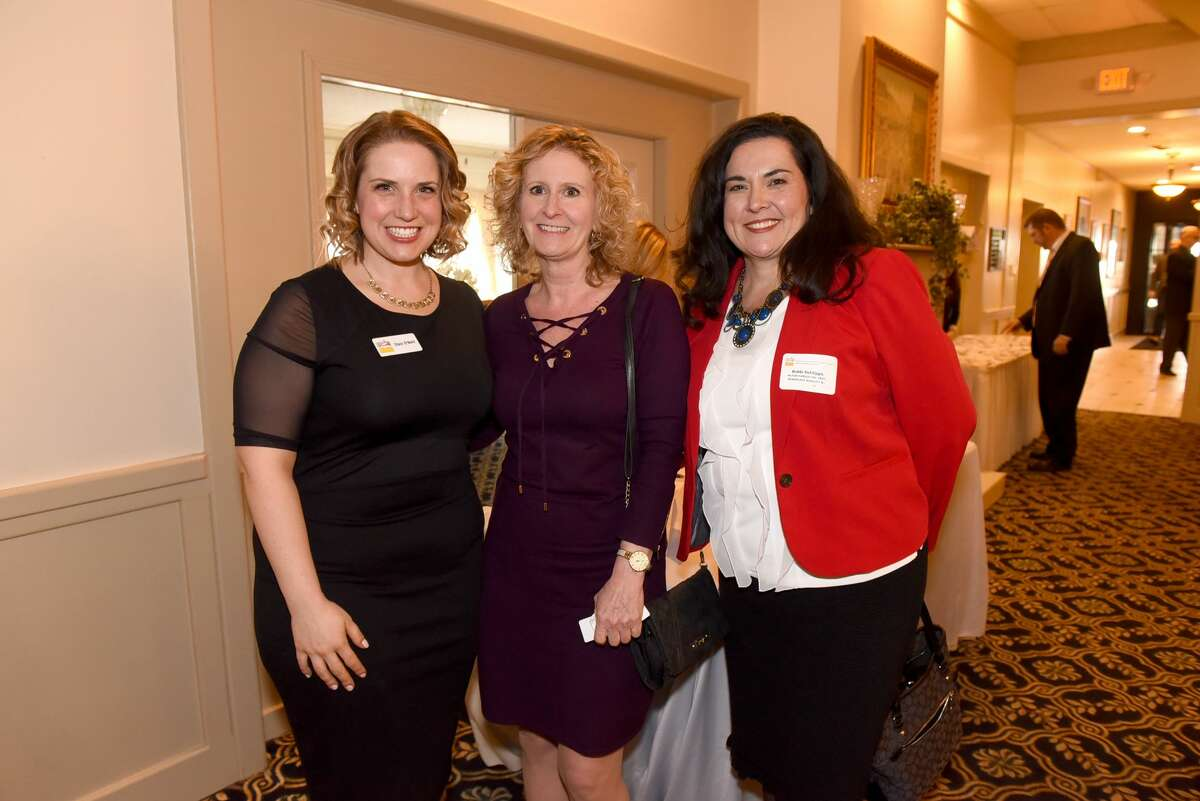 Were you seen at the Rensselaer County Regional Chamber of Commerce Leadership Institute Class of 2018 graduation ceremony and dinner at the Franklin Terrace Ballroom in Troy on March 22, 2018?