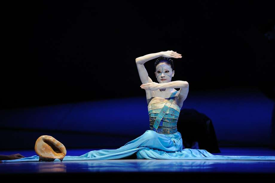 "Yuan Yuan Tan in Neumeier's ""The Little Mermaid."" Photo: Erik Tomasson"