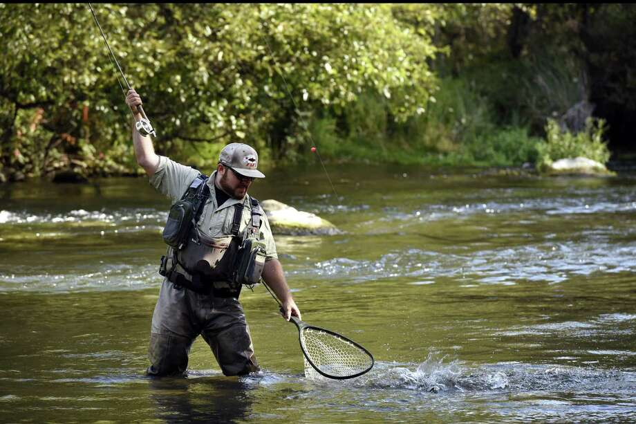 The monthly meeting of the Housatonic Fly Fishermen's Association will take place on Thursday, April 5 at 7 p.m. in the St Paul's Episcopal Church, 65 North Main St., Wallingford. File photo. Photo: Michael Short / Special To The Chronicle / Michael Short 2016
