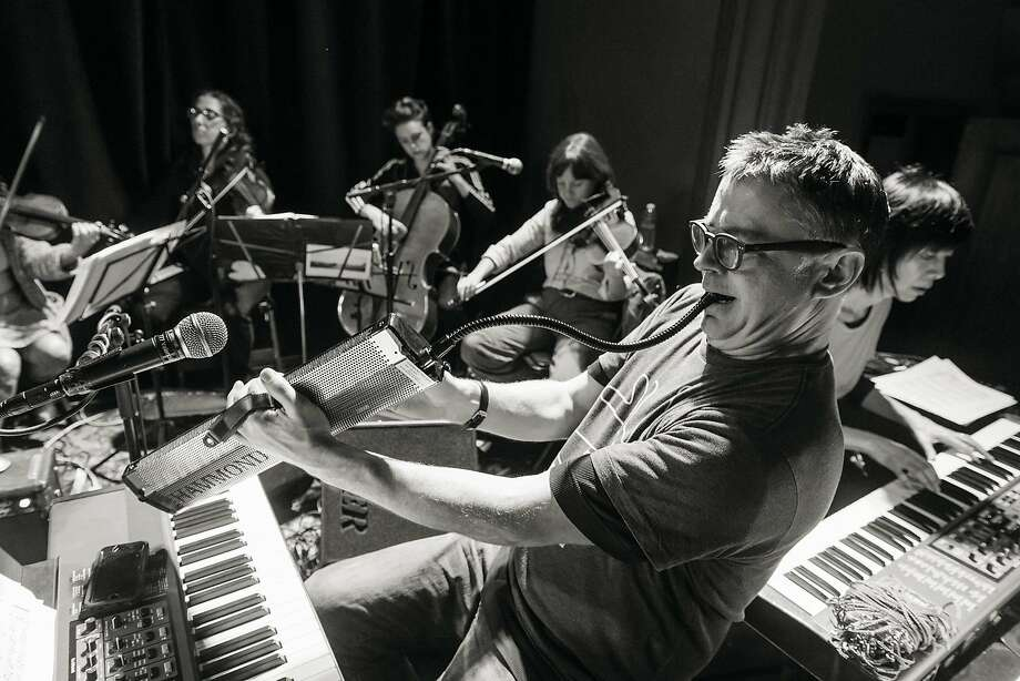 Marc Capelle's Red Room Orchestra will accompany a program of silent and sound selections from Stephen Parr's Oddball Films collection, during a live show on April 9, 2018 at the Castro Theatre. Photo: SFFilm