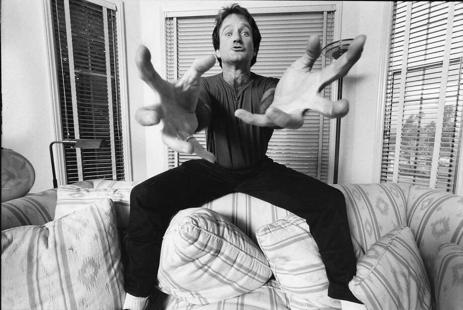 """The HBO documentary """"Robin Williams: Come Inside My Mind"""" is a portrait of a world-famous comedian who never forgot his Bay Area roots. Photo: SFFilm"""