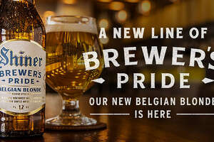 """Shiner's beer makers say that the ale has """"soft notes of clove and vanilla that rise from the distinctive Belgian yeast."""