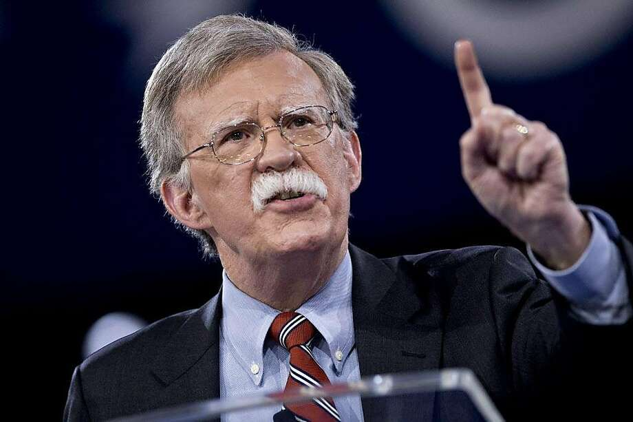 FILE: John Bolton, former U.S. ambassador to the United Nations (UN), speaks during the American Conservative Unions Conservative Political Action Conference (CPAC) meeting in National Harbor, Maryland, U.S., on Thursday, March 3, 2016. President Donald Trump is replacing White House National Security Adviser H.R. McMaster with Bolton, a former U.S. Ambassador to the United Nations famed for his hawkish views, in the latest shakeup of his administration. The move installs Trump's third national security adviser in 14 months. McMaster joined the administration a year ago after Trump fired his predecessor, Michael Flynn, for lying to the vice president about contacts with Russia. Our editors select the best archive images on Bolton and McMaster. Photographer: Andrew Harrer/Bloomberg Photo: Andrew Harrer, Bloomberg