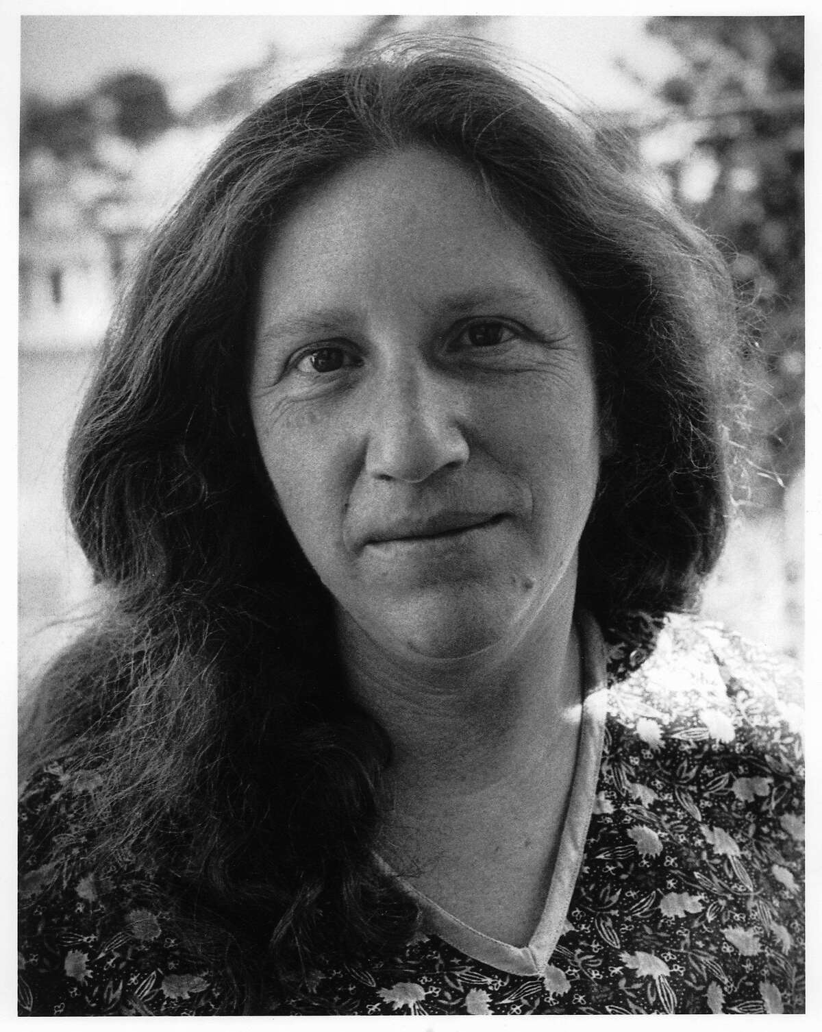 FILE-- Portrait of poet Diane di Prima in San Francisco in 1981. Diane di Prima, a poet and writer who was regarded as the most significant female member of the Beat Generation, has died.