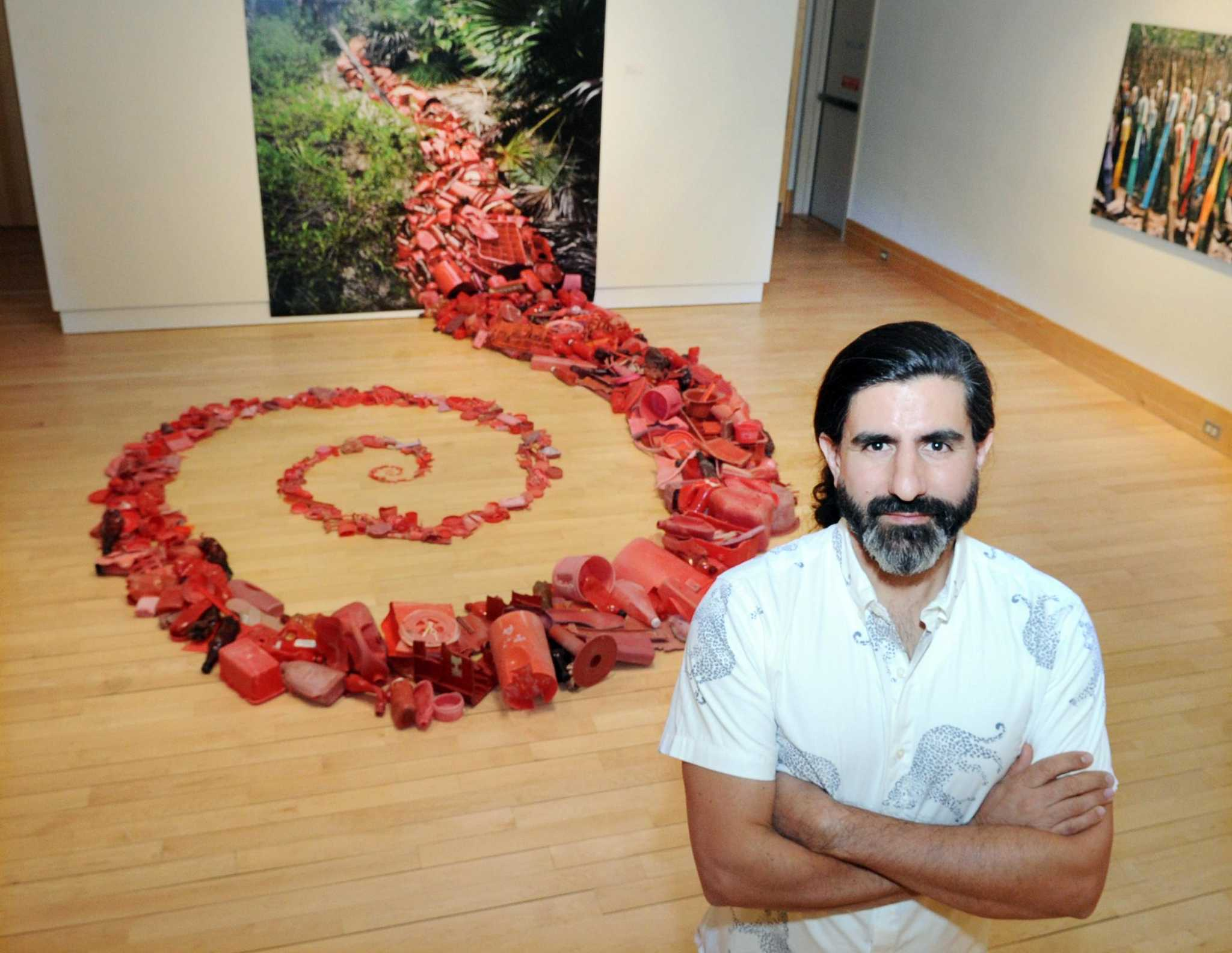 At Greenwich Library: Artists turn the stuff of pollution into art | Greenwich Time