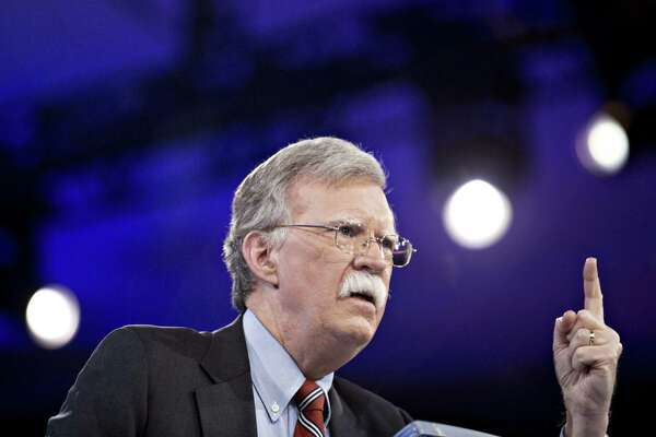 John Bolton speaks during the American Conservative Unions Conservative Political Action Conference meeting in Oxon Hill, Maryland, on March 3, 2016.